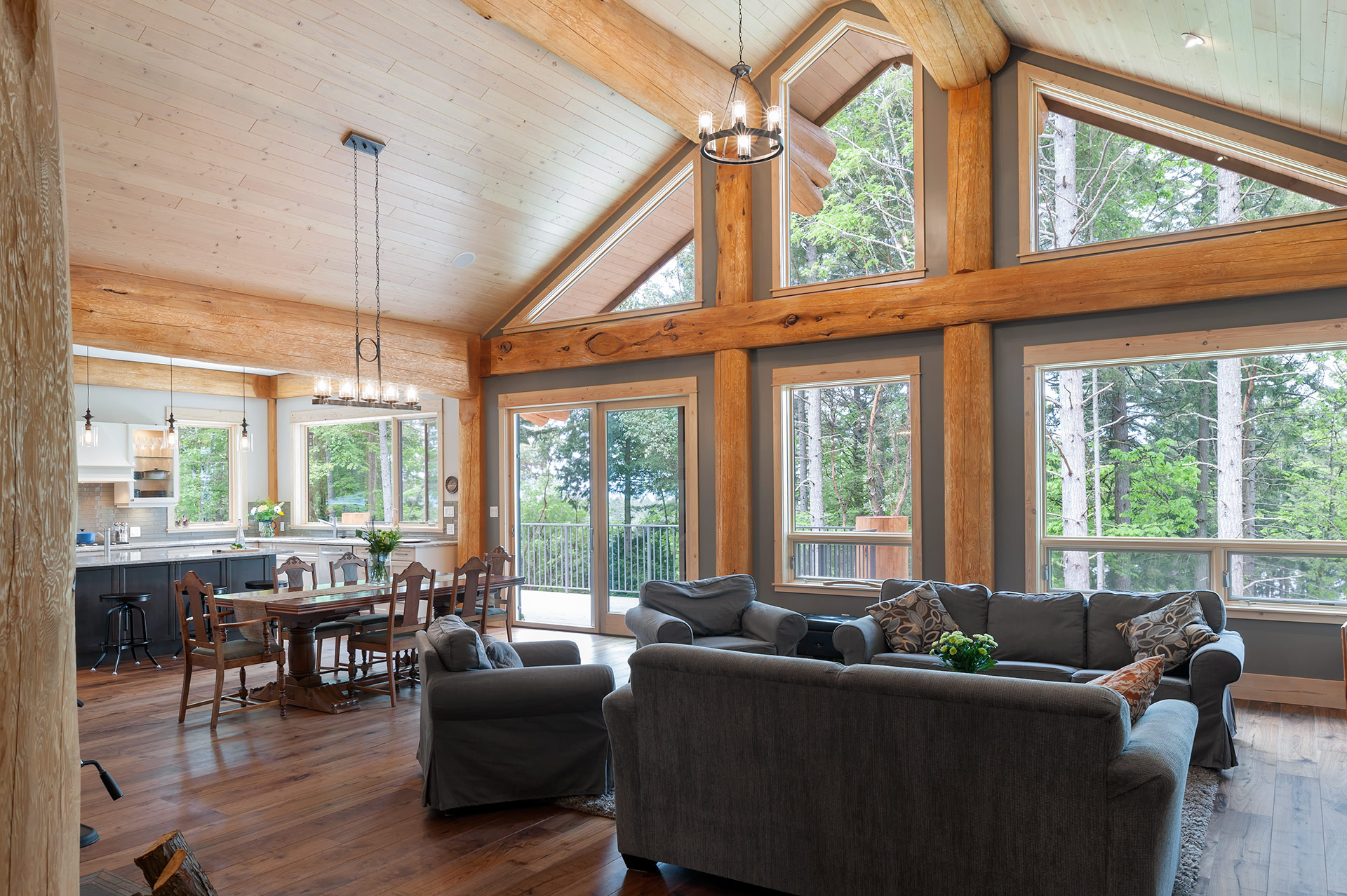 Contemporary Post And Beam Home Modern Home Magazine