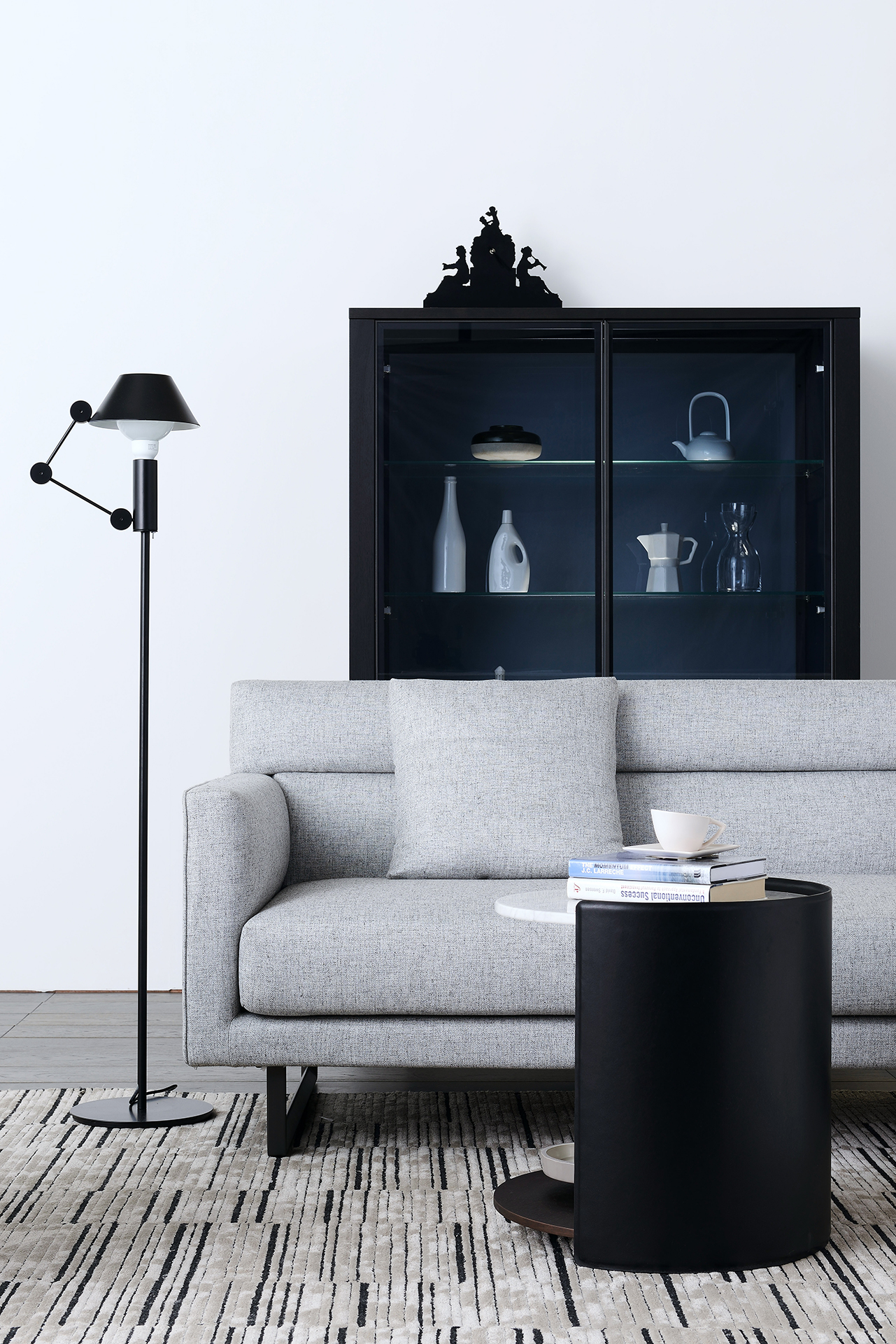 Contemporary Bedroom Set London Black By Acme Furniture: Amor Sofa By Camerich